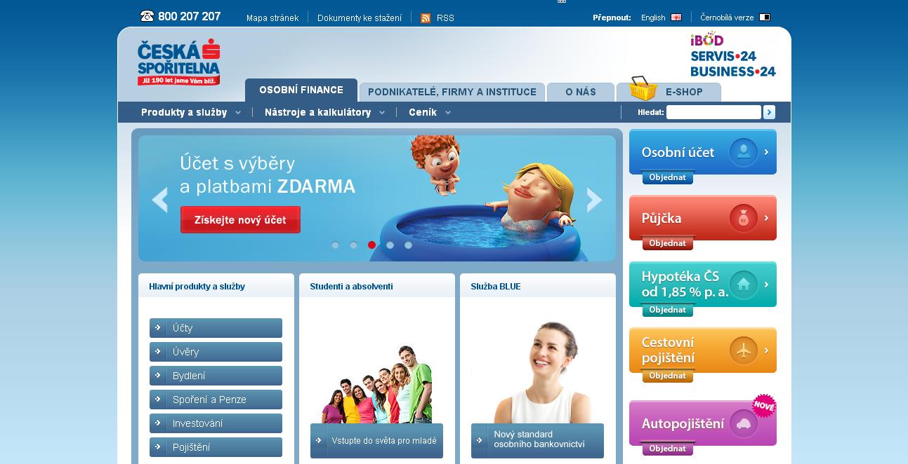 Česká spořitelna nabízí i americkou hypotéku